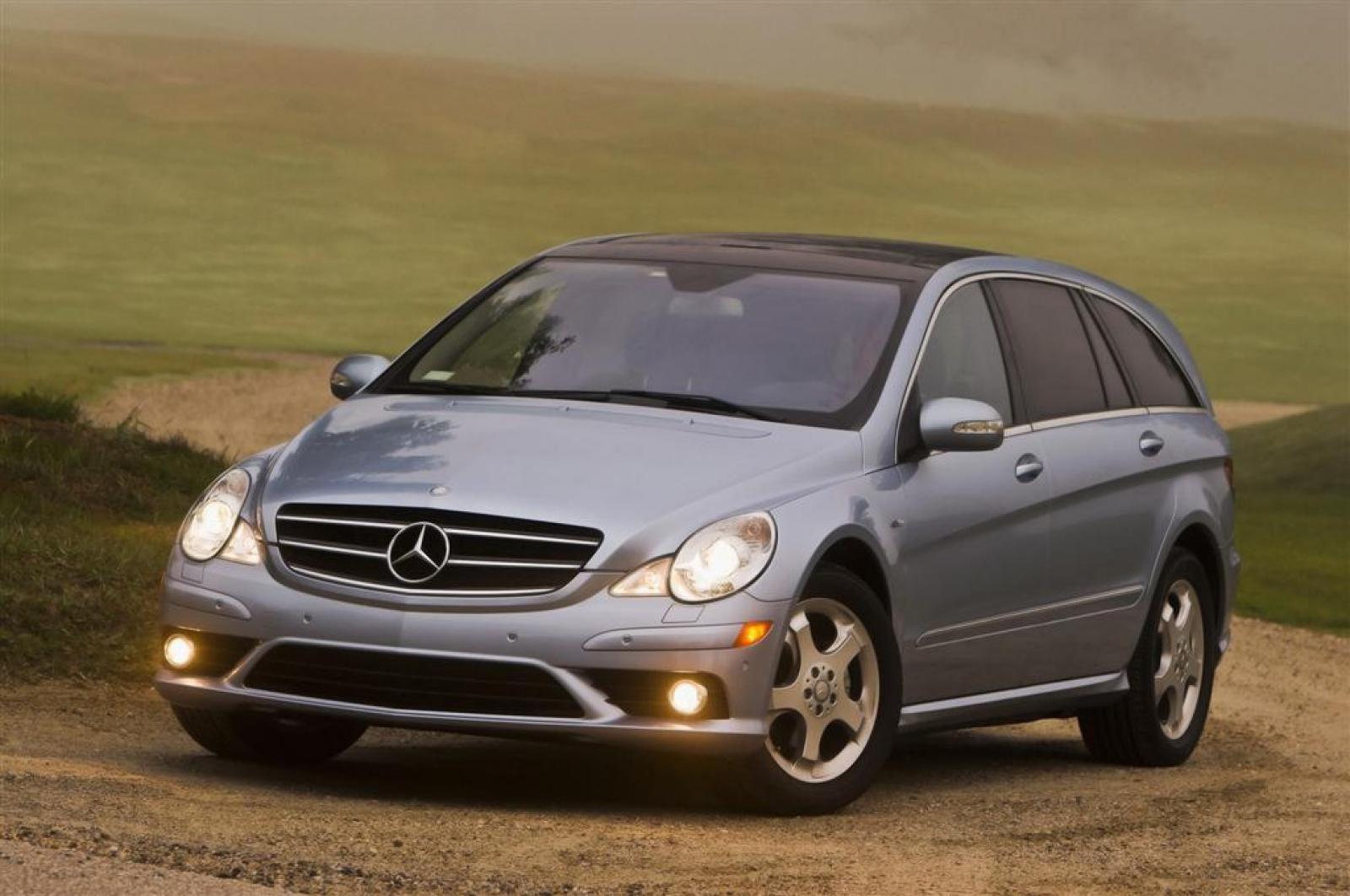 2009 mercedes benz r class information and photos