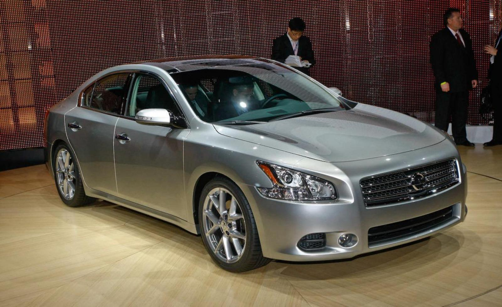 2009 nissan maxima information and photos zombiedrive. Black Bedroom Furniture Sets. Home Design Ideas