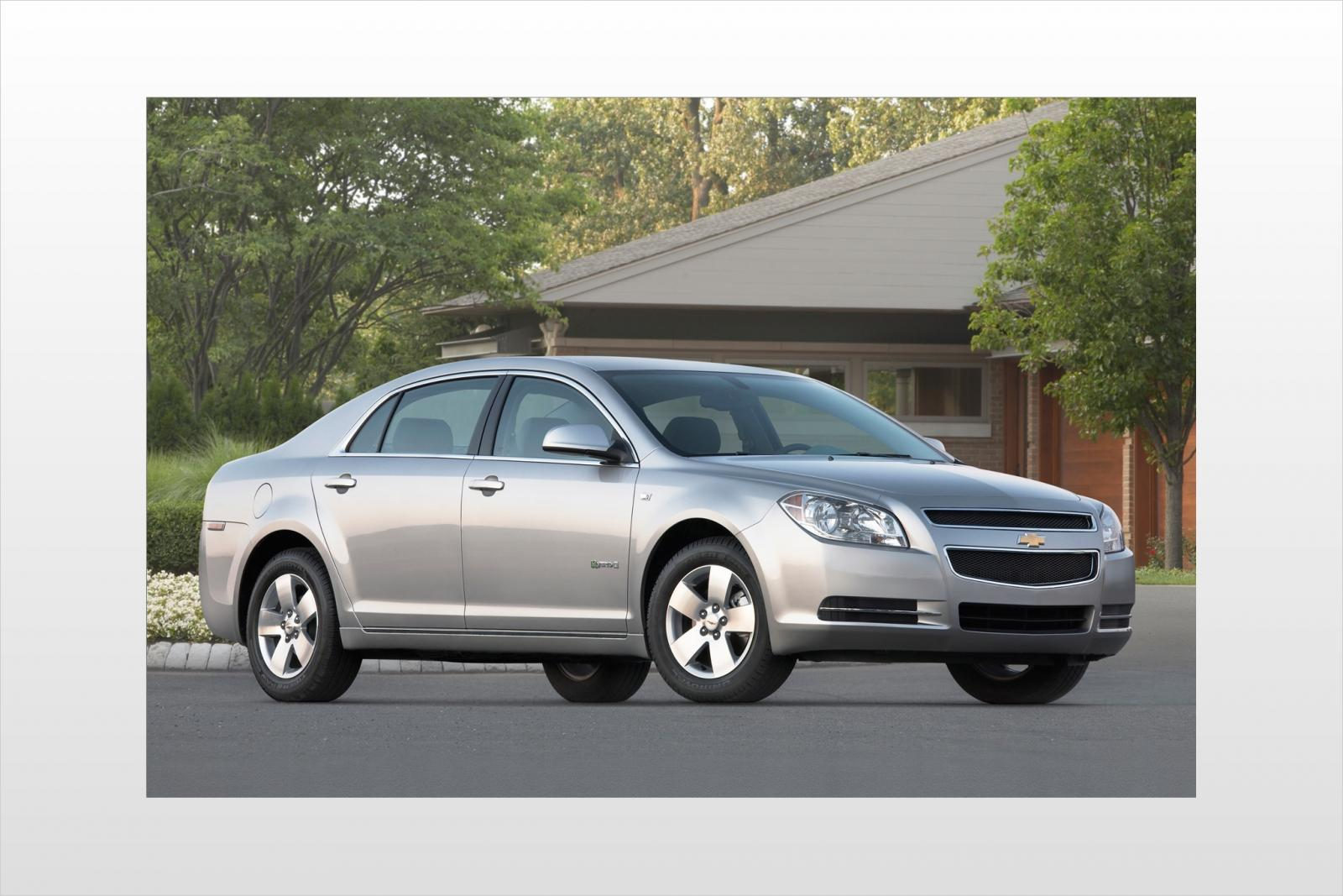 2009 chevrolet malibu hybrid information and photos zombiedrive. Black Bedroom Furniture Sets. Home Design Ideas
