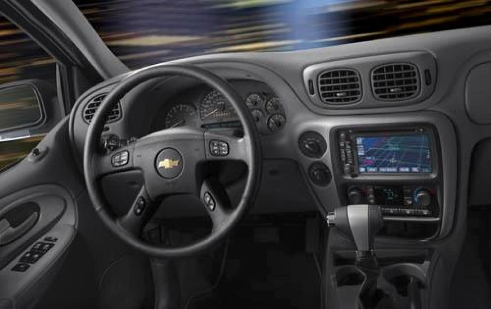 2002 Chevy Trailblazer Interior