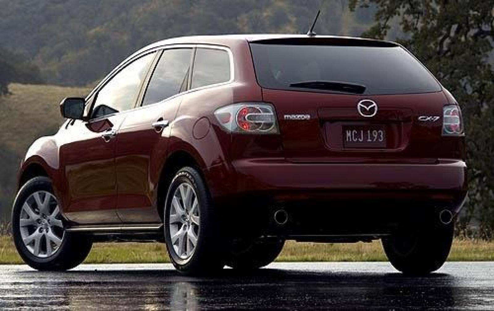 2009 mazda cx 7 information and photos zombiedrive. Black Bedroom Furniture Sets. Home Design Ideas
