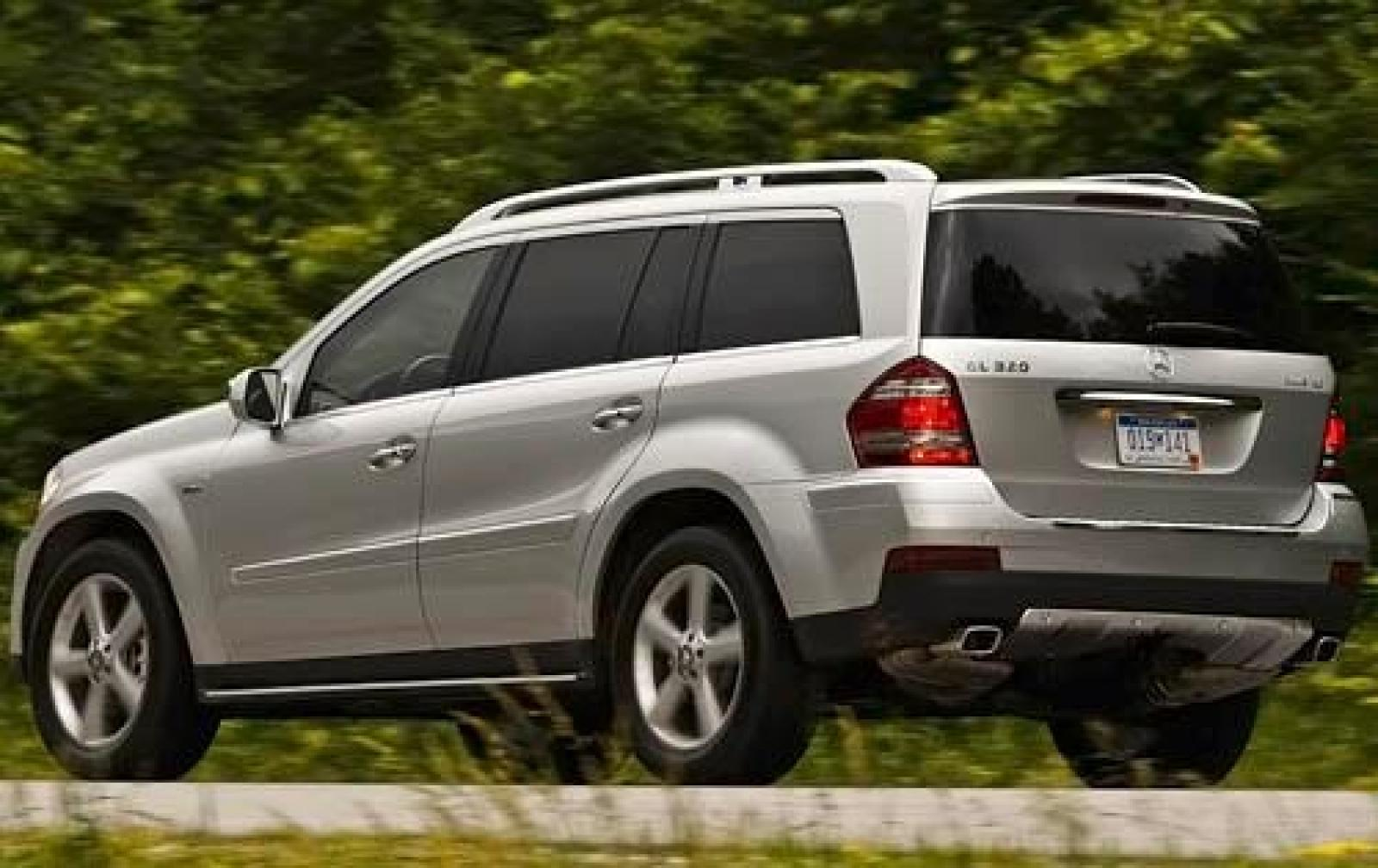 2009 mercedes benz gl class information and photos