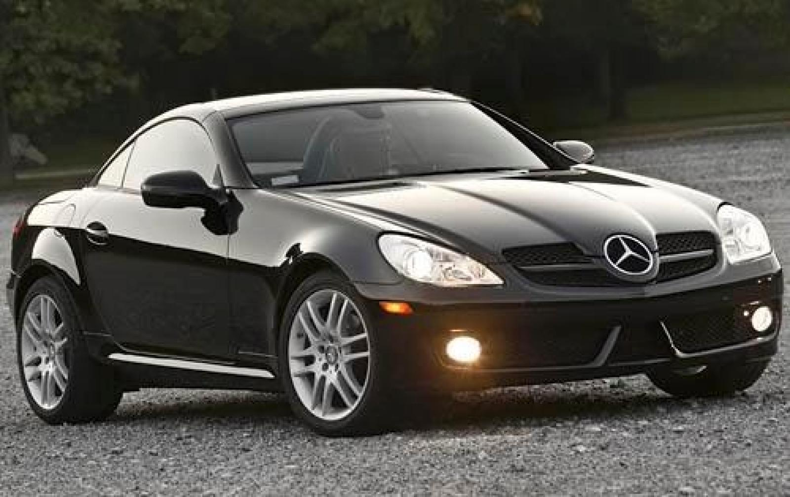 2009 mercedes benz slk class information and photos