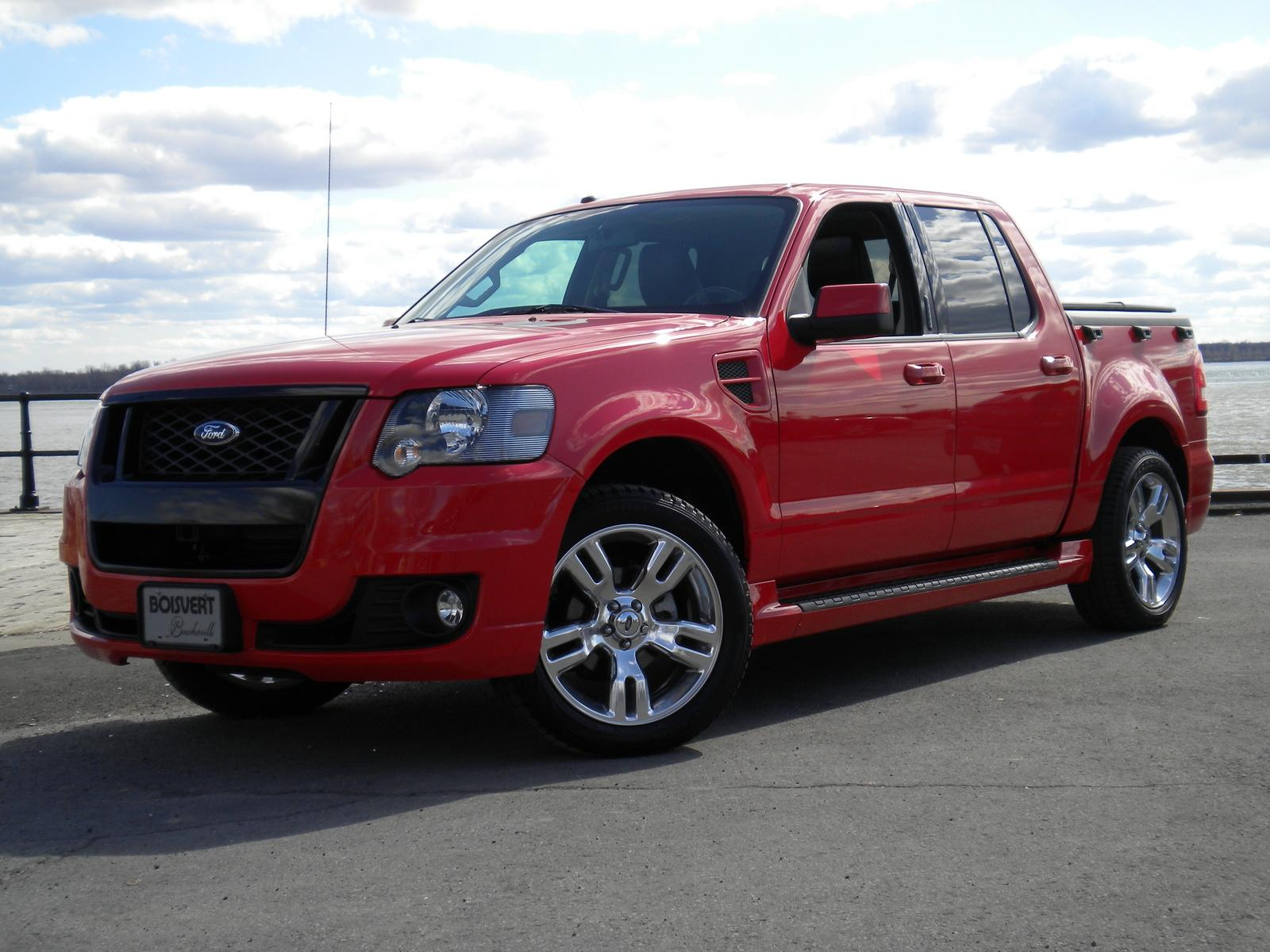 2010 ford explorer sport trac information and photos zombiedrive. Black Bedroom Furniture Sets. Home Design Ideas