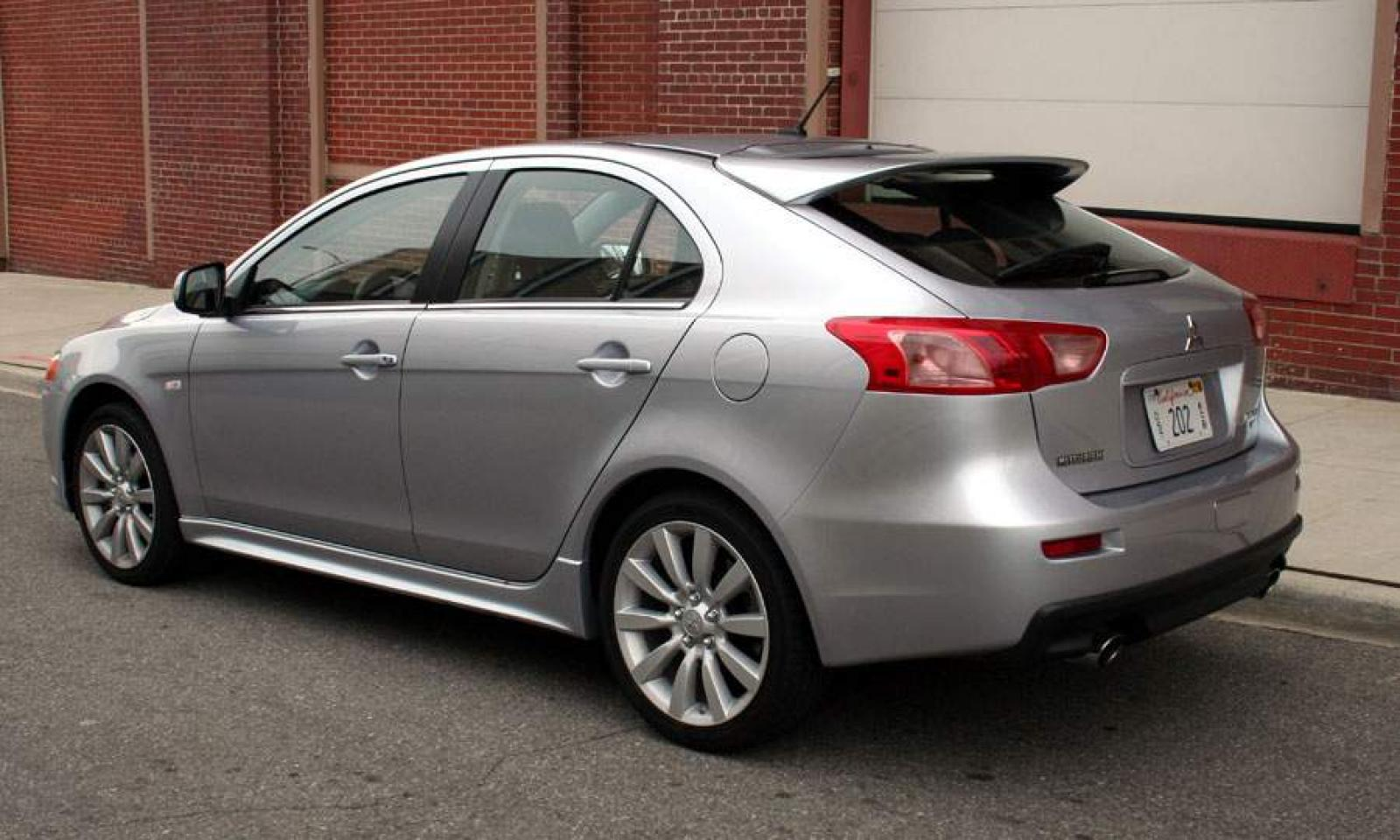 2010 mitsubishi lancer sportback information and photos. Black Bedroom Furniture Sets. Home Design Ideas