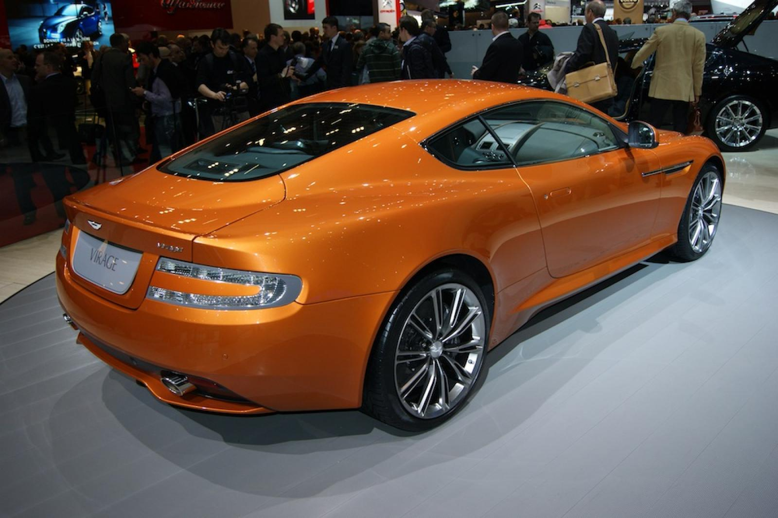 2011 aston martin virage information and photos zombiedrive. Black Bedroom Furniture Sets. Home Design Ideas