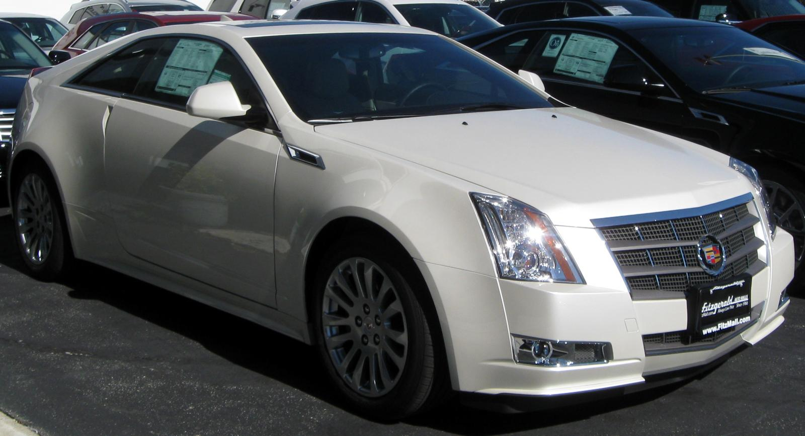 2011 Cadillac CTS Coupe  Information and photos  ZombieDrive