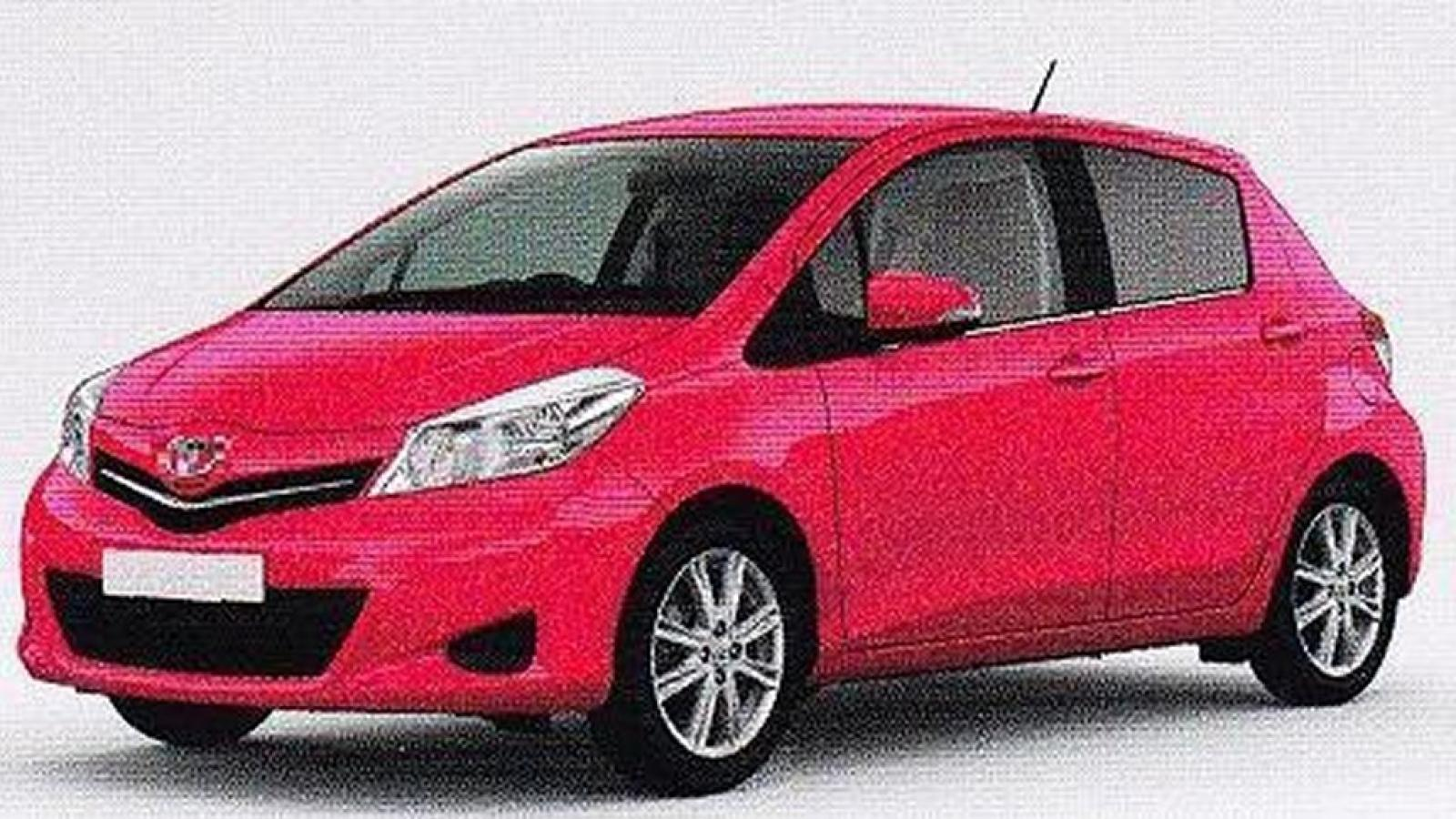 2011 toyota yaris information and photos zombiedrive. Black Bedroom Furniture Sets. Home Design Ideas