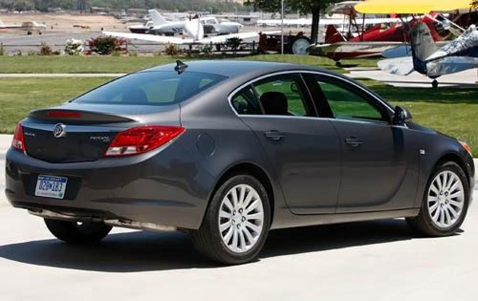 trend buick first front cxl quarter in motion test regal cars three fwd motor turbo