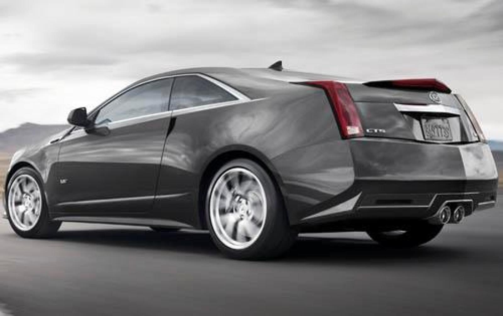 2011 Cadillac Cts V Coupe 1600px Image 4