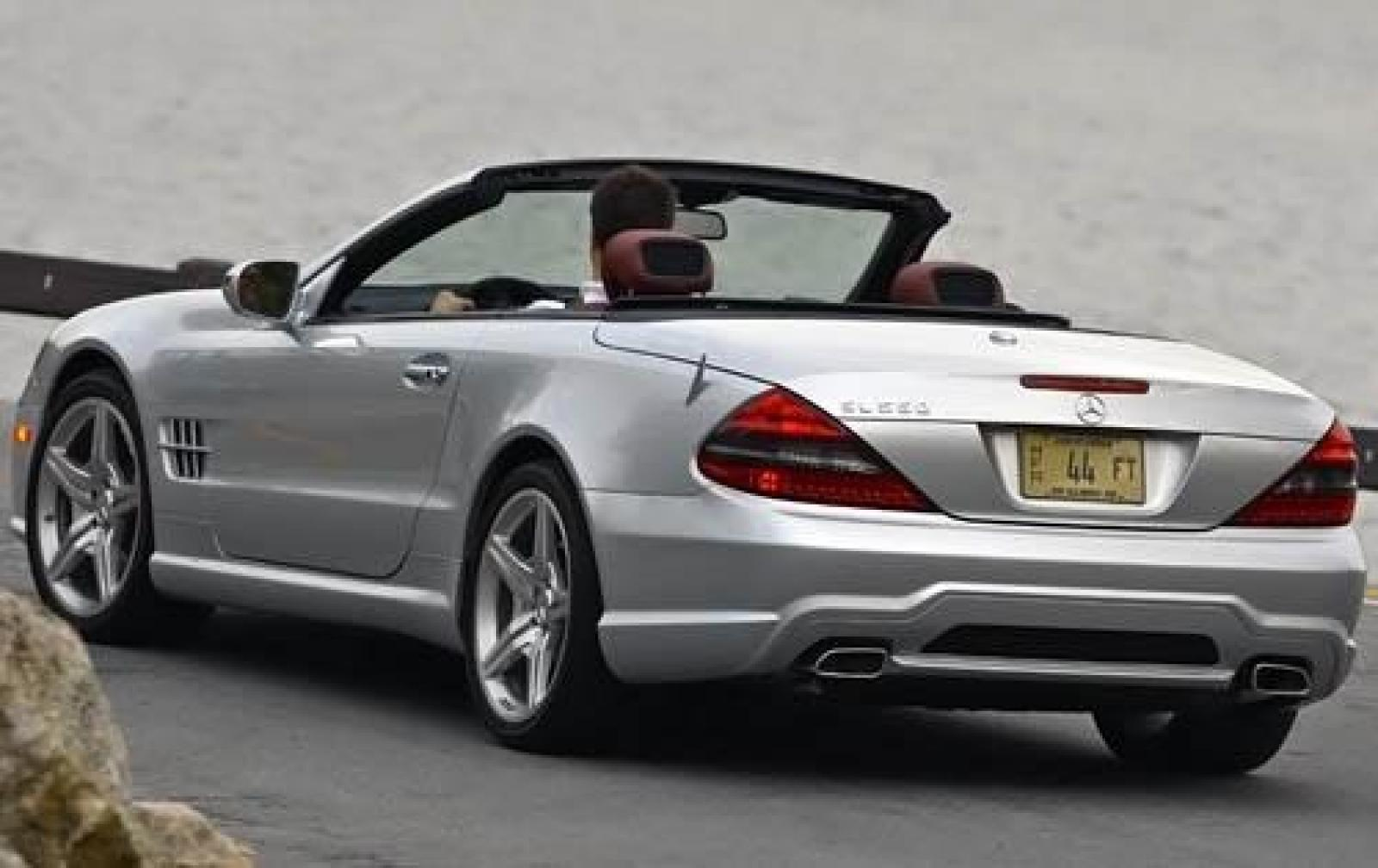 2011 Mercedes Benz Sl550 Convertible >> 2011 Mercedes-Benz SL-Class - Information and photos - ZombieDrive