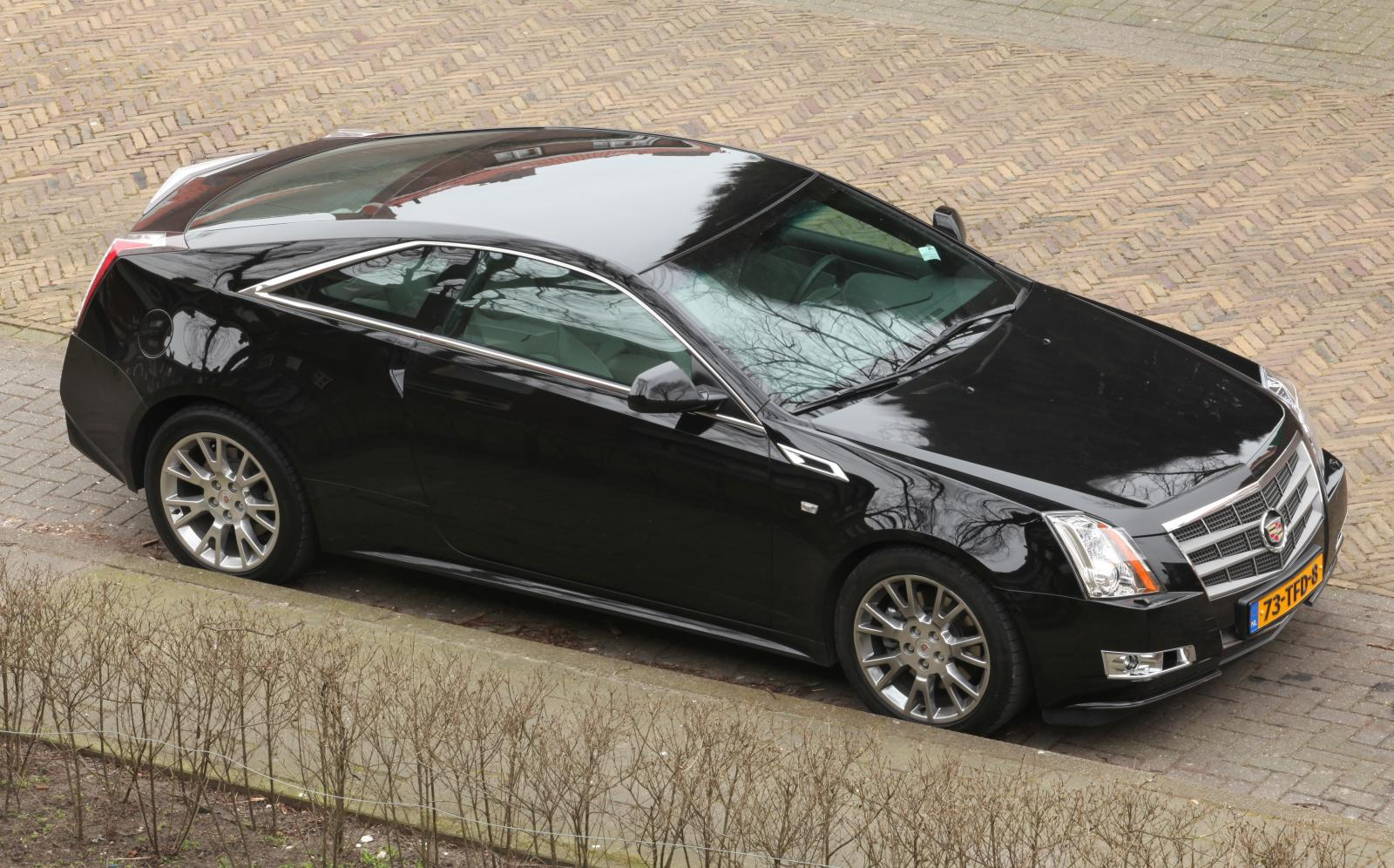 2012 cadillac cts coupe information and photos zombiedrive. Black Bedroom Furniture Sets. Home Design Ideas