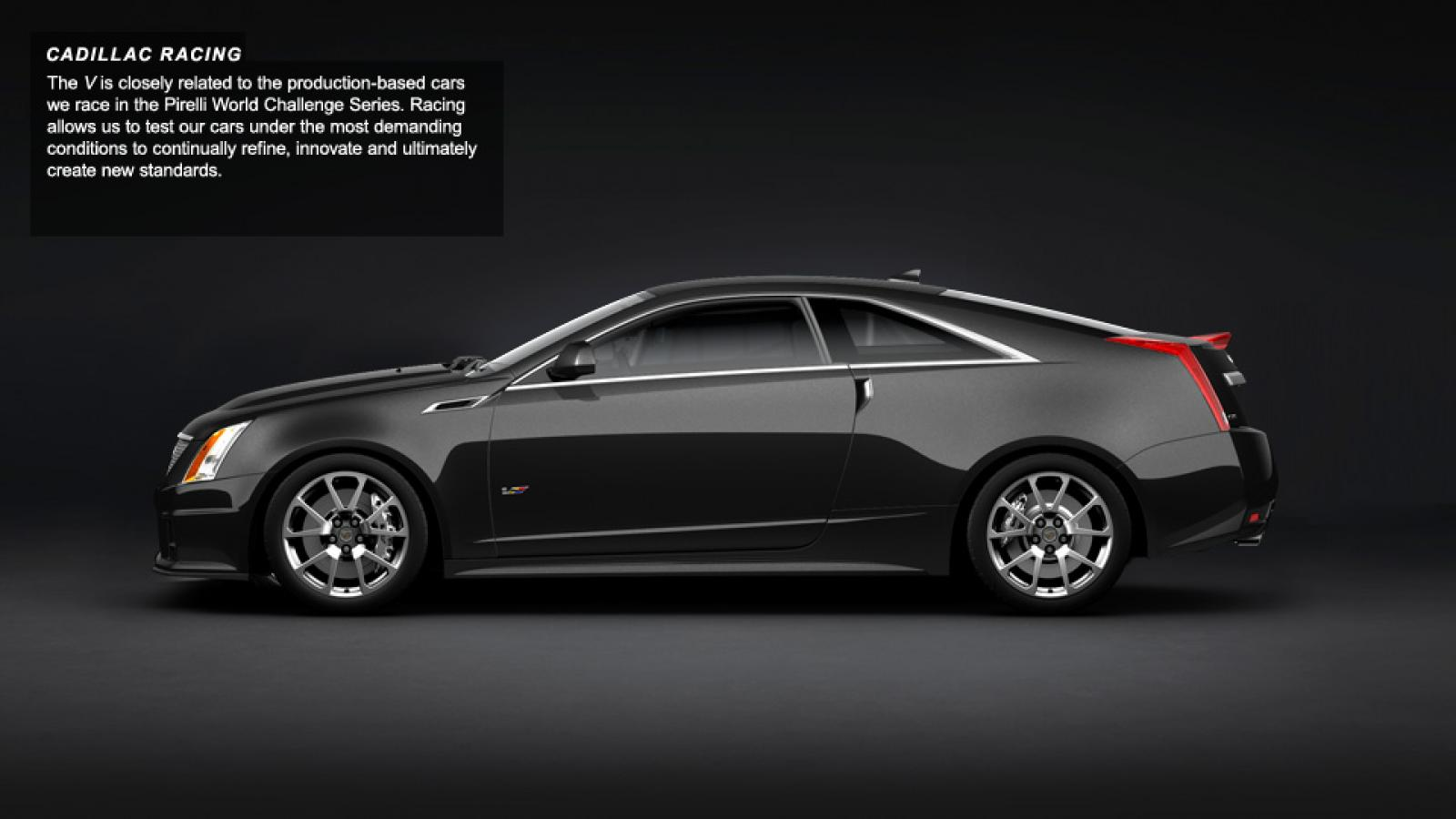 2012 cadillac cts v coupe information and photos zombiedrive. Black Bedroom Furniture Sets. Home Design Ideas
