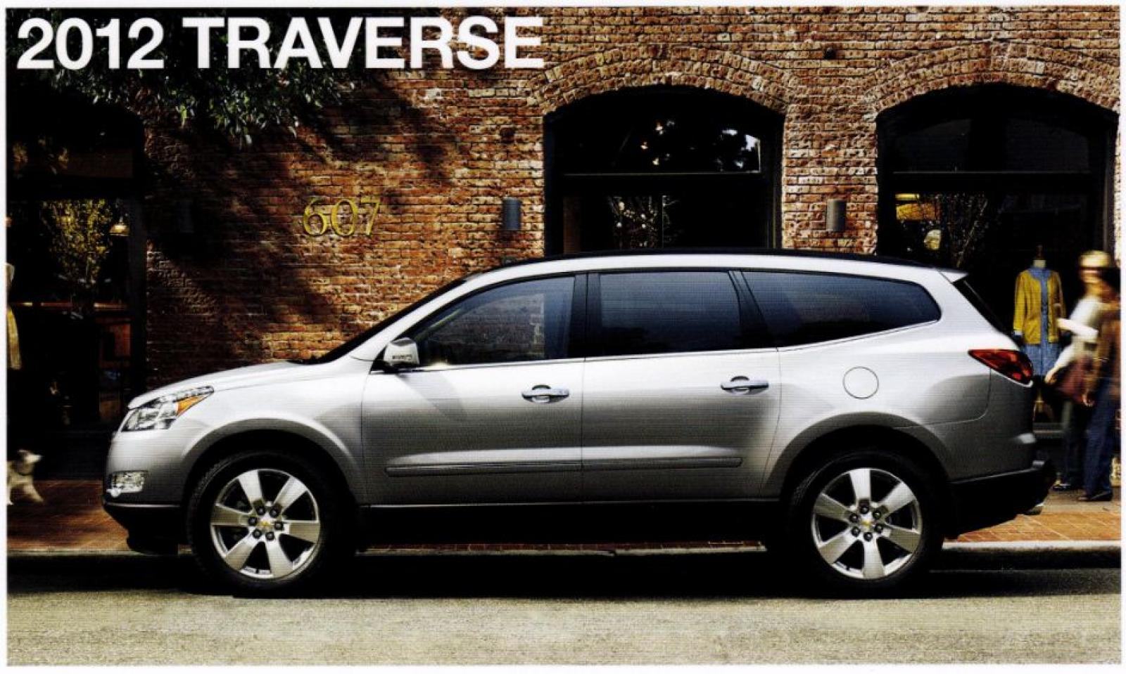 2012 chevrolet traverse information and photos zombiedrive. Black Bedroom Furniture Sets. Home Design Ideas