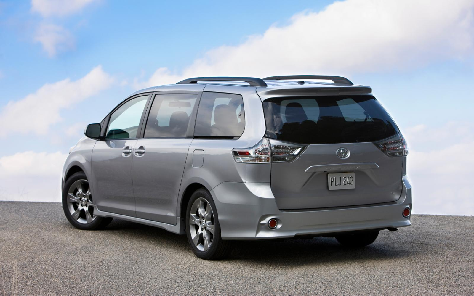 2012 toyota sienna information and photos zombiedrive. Black Bedroom Furniture Sets. Home Design Ideas
