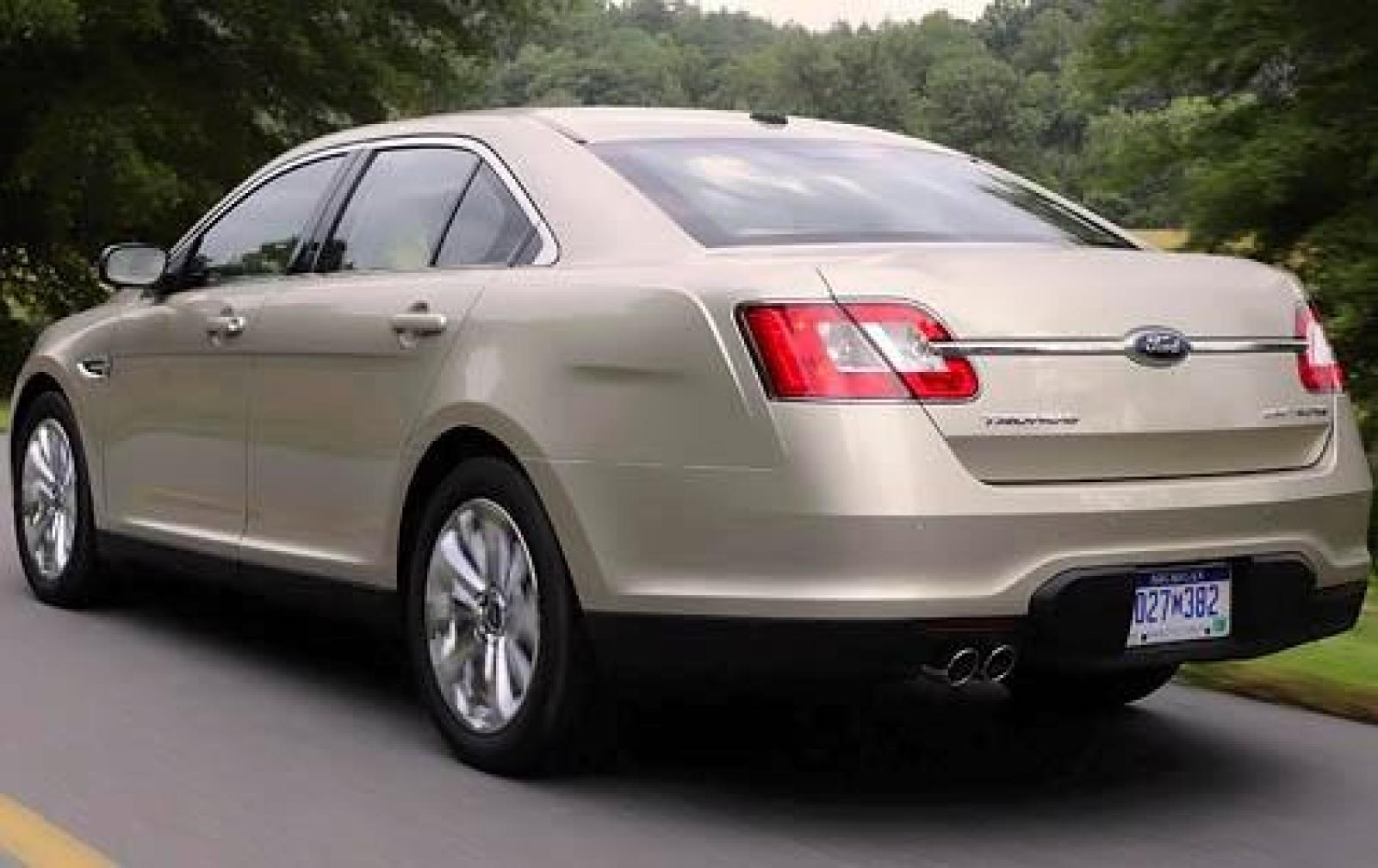 2012 ford taurus information and photos zombiedrive. Black Bedroom Furniture Sets. Home Design Ideas