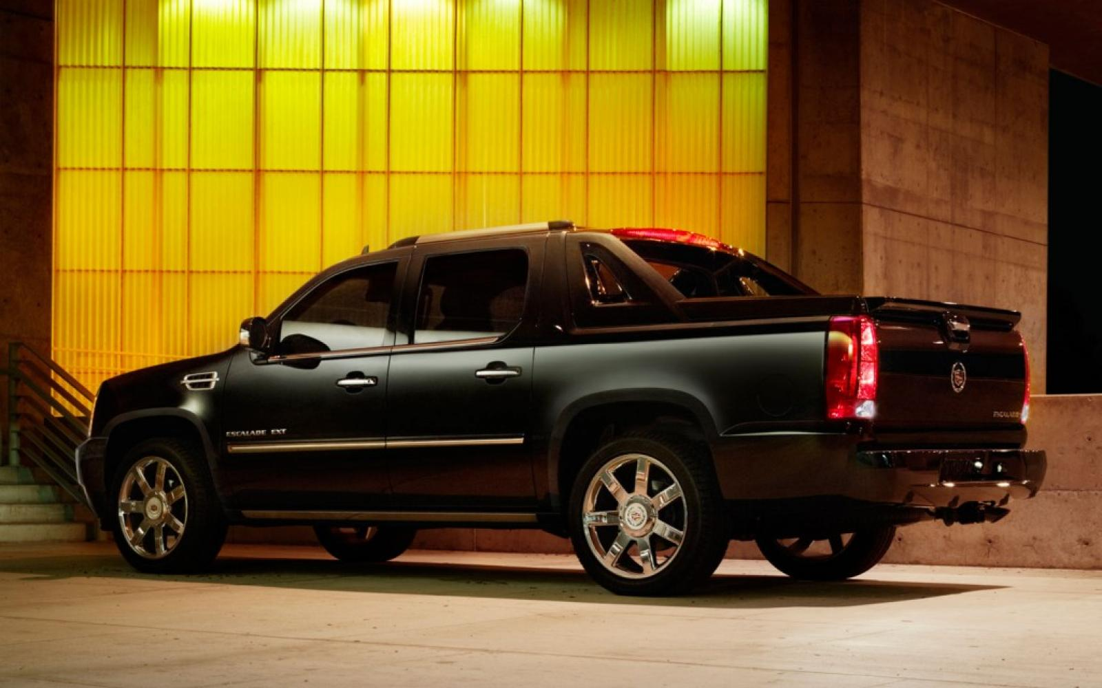 2013 cadillac escalade ext information and photos zombiedrive. Black Bedroom Furniture Sets. Home Design Ideas