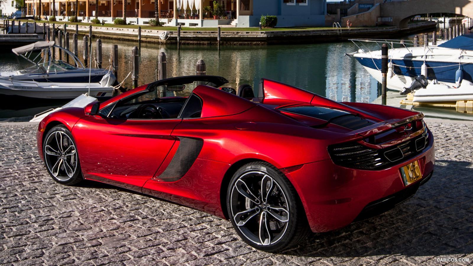 2013 mclaren mp4 12c spider information and photos zombiedrive. Black Bedroom Furniture Sets. Home Design Ideas