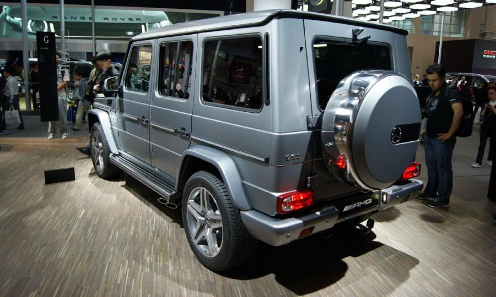 2013 mercedes benz g class information and photos zombiedrive. Black Bedroom Furniture Sets. Home Design Ideas