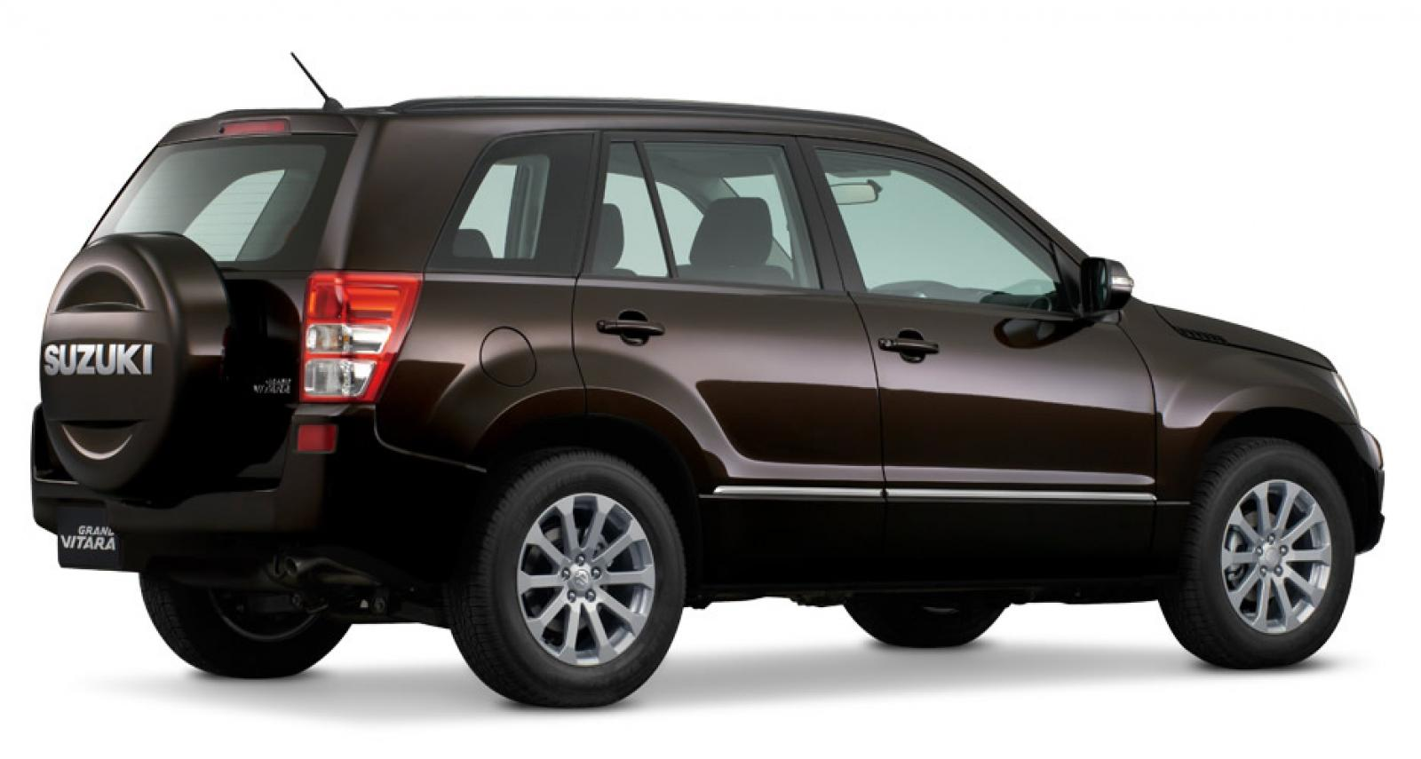 2013 suzuki grand vitara information and photos. Black Bedroom Furniture Sets. Home Design Ideas
