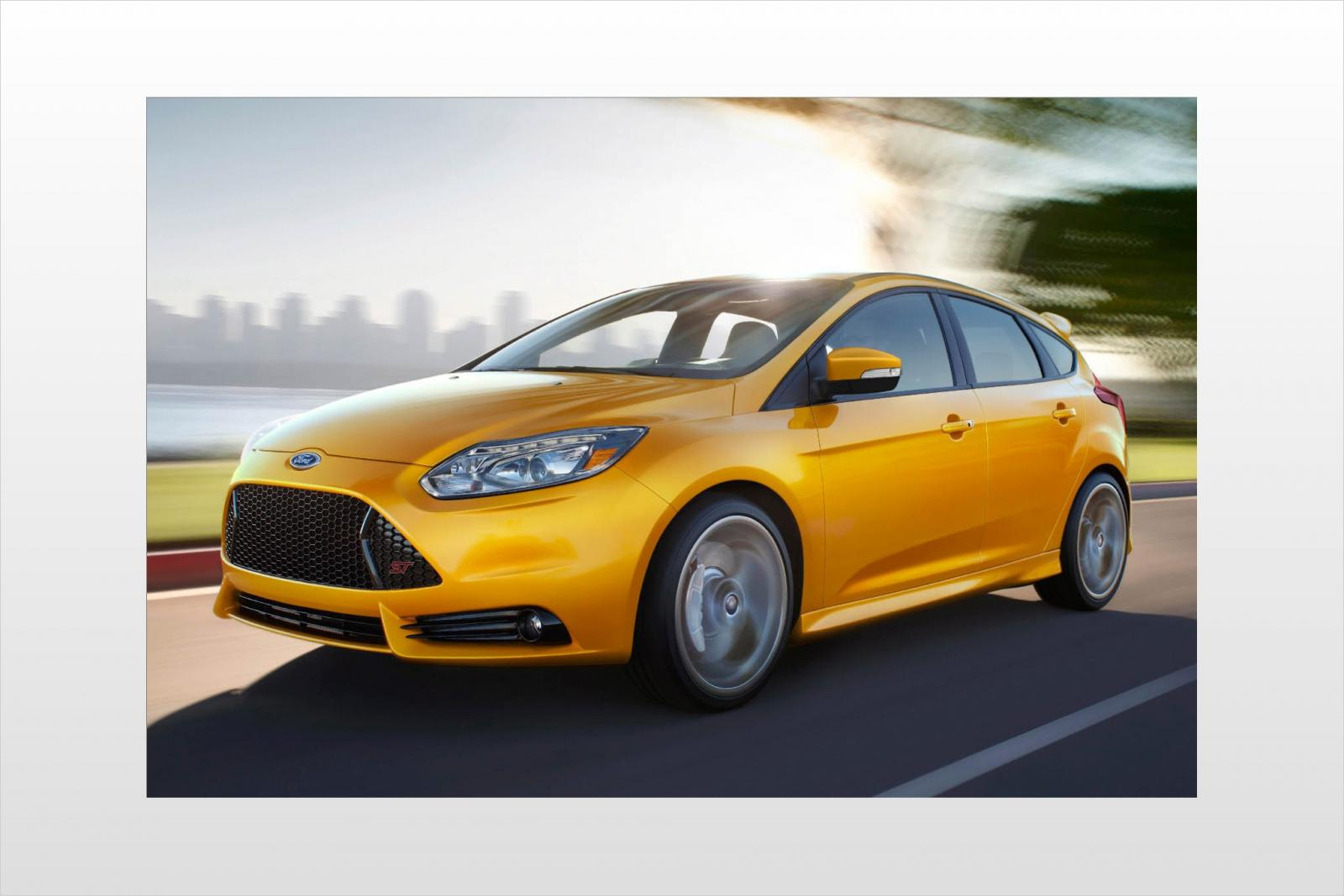 2014 ford focus st information and photos zombiedrive. Black Bedroom Furniture Sets. Home Design Ideas