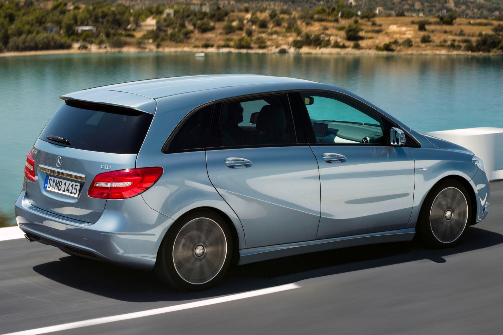 2014 mercedes benz b class electric drive information for Mercedes benz bclass