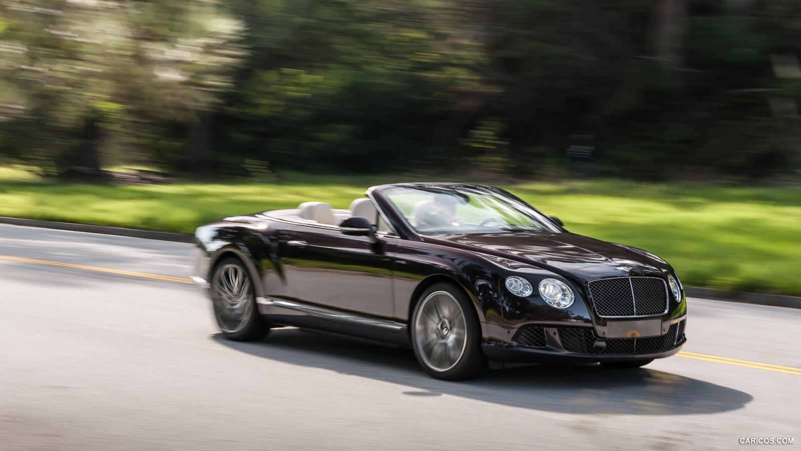 2014 Bentley Continental Gt Speed Information And Photos