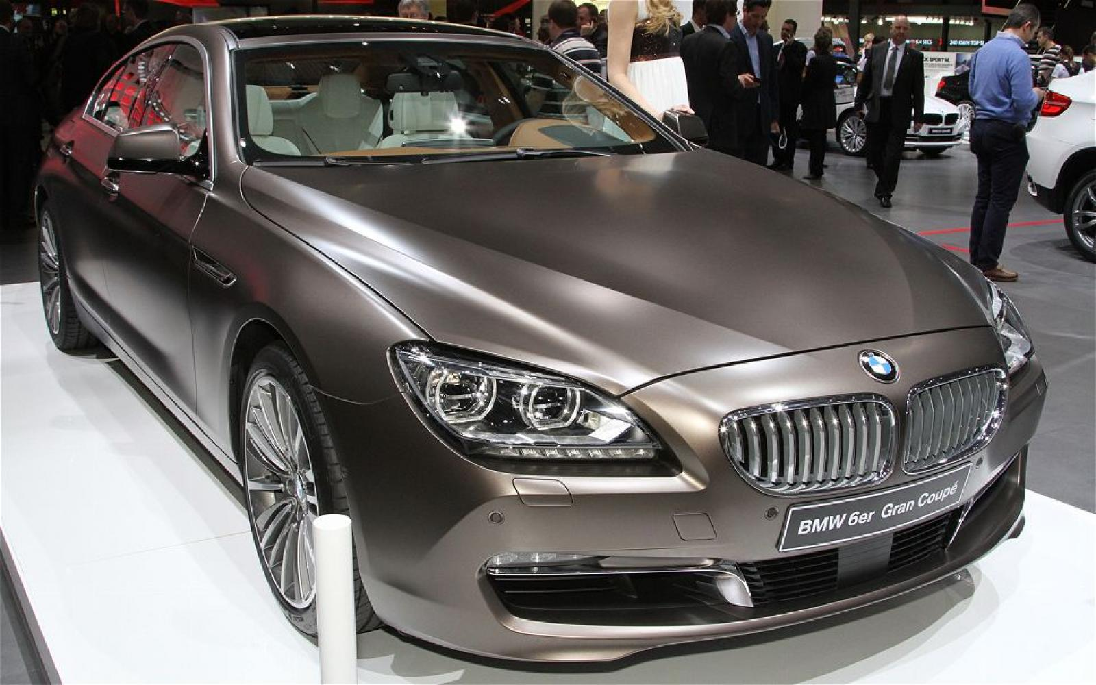 2014 bmw 6 series gran coupe information and photos zombiedrive. Black Bedroom Furniture Sets. Home Design Ideas