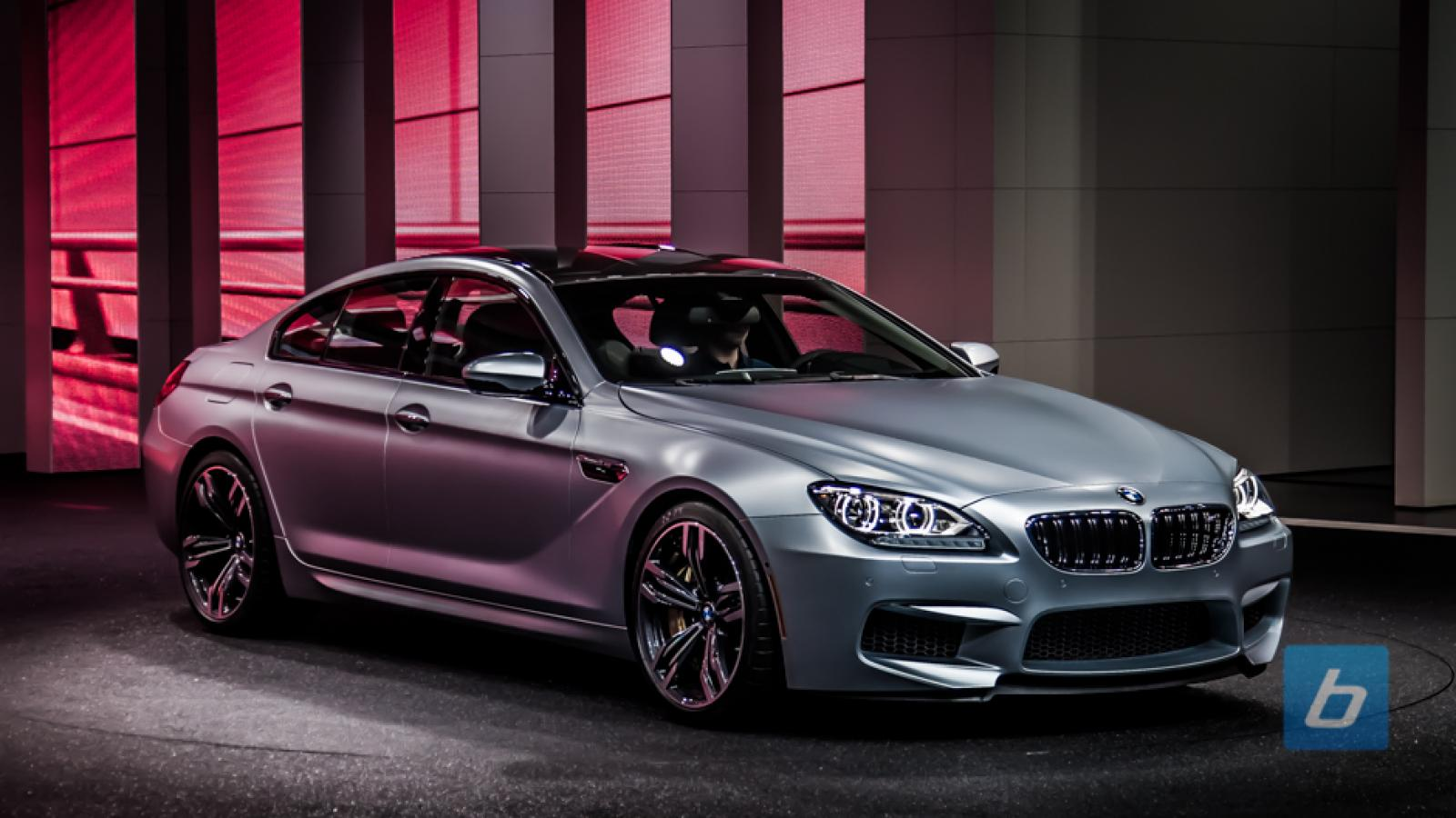 2014 bmw m6 gran coupe information and photos zombiedrive. Black Bedroom Furniture Sets. Home Design Ideas