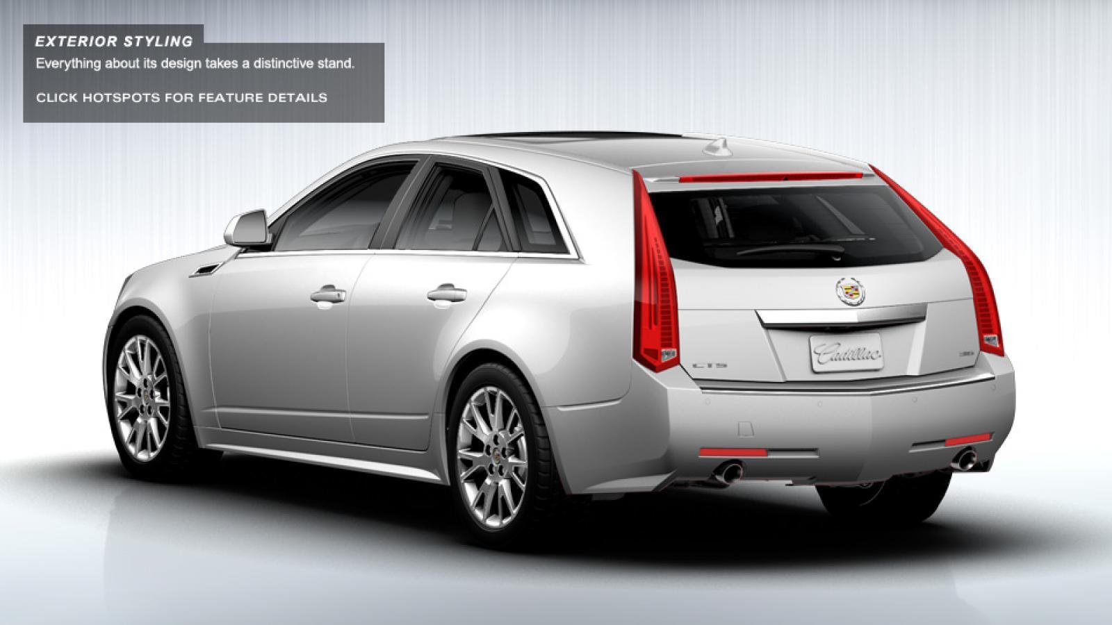 2014 Cadillac Cts Wagon Information And Photos Zombiedrive