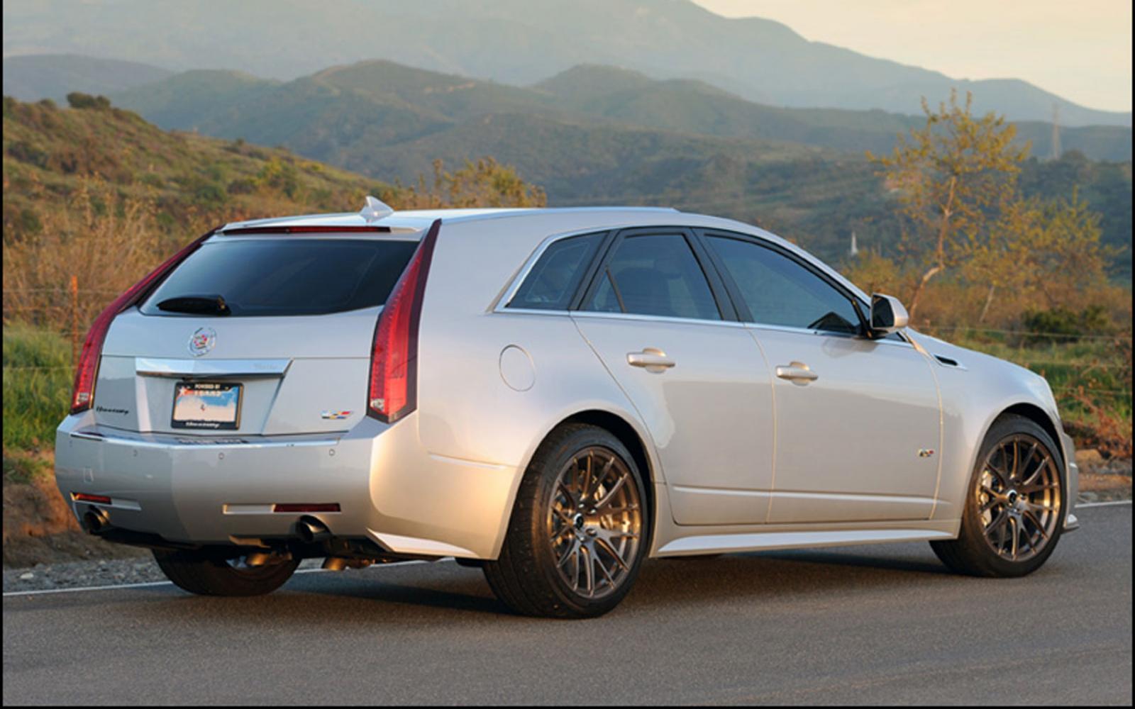 2014 Cadillac Cts V Wagon Information And Photos