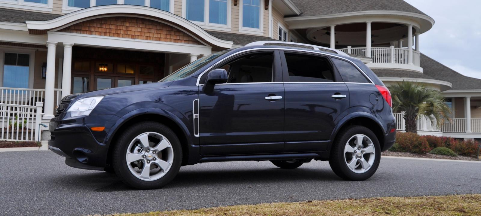 2014 chevrolet captiva sport information and photos zombiedrive. Cars Review. Best American Auto & Cars Review