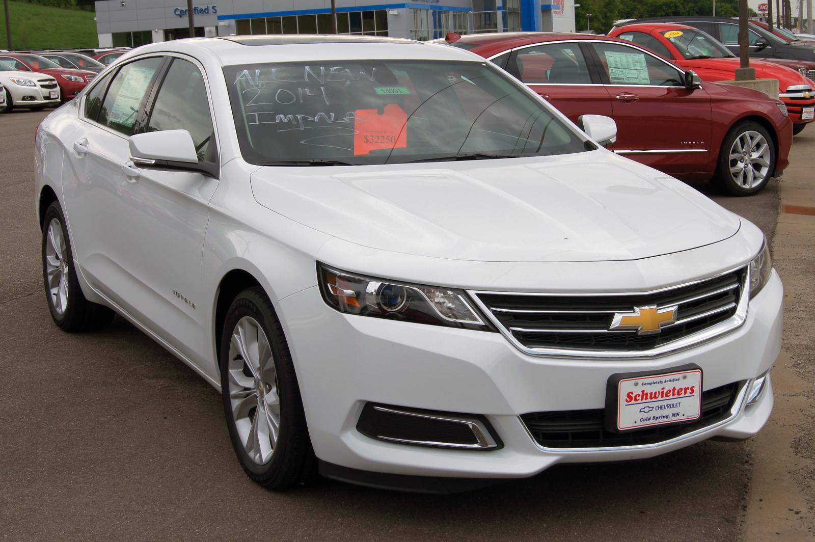 chevrolet impala limited information   zomb drive