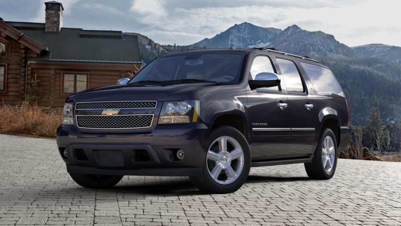 2014 chevrolet suburban information and photos zombiedrive. Black Bedroom Furniture Sets. Home Design Ideas