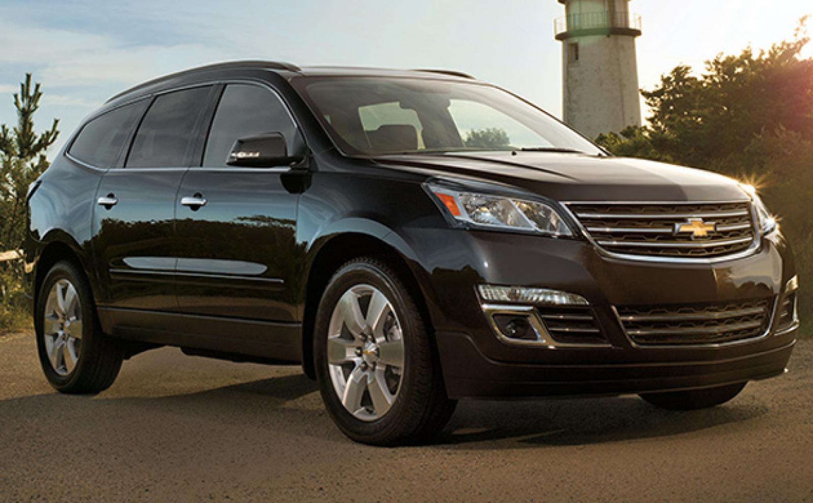 2014 chevrolet traverse information and photos zombiedrive. Black Bedroom Furniture Sets. Home Design Ideas