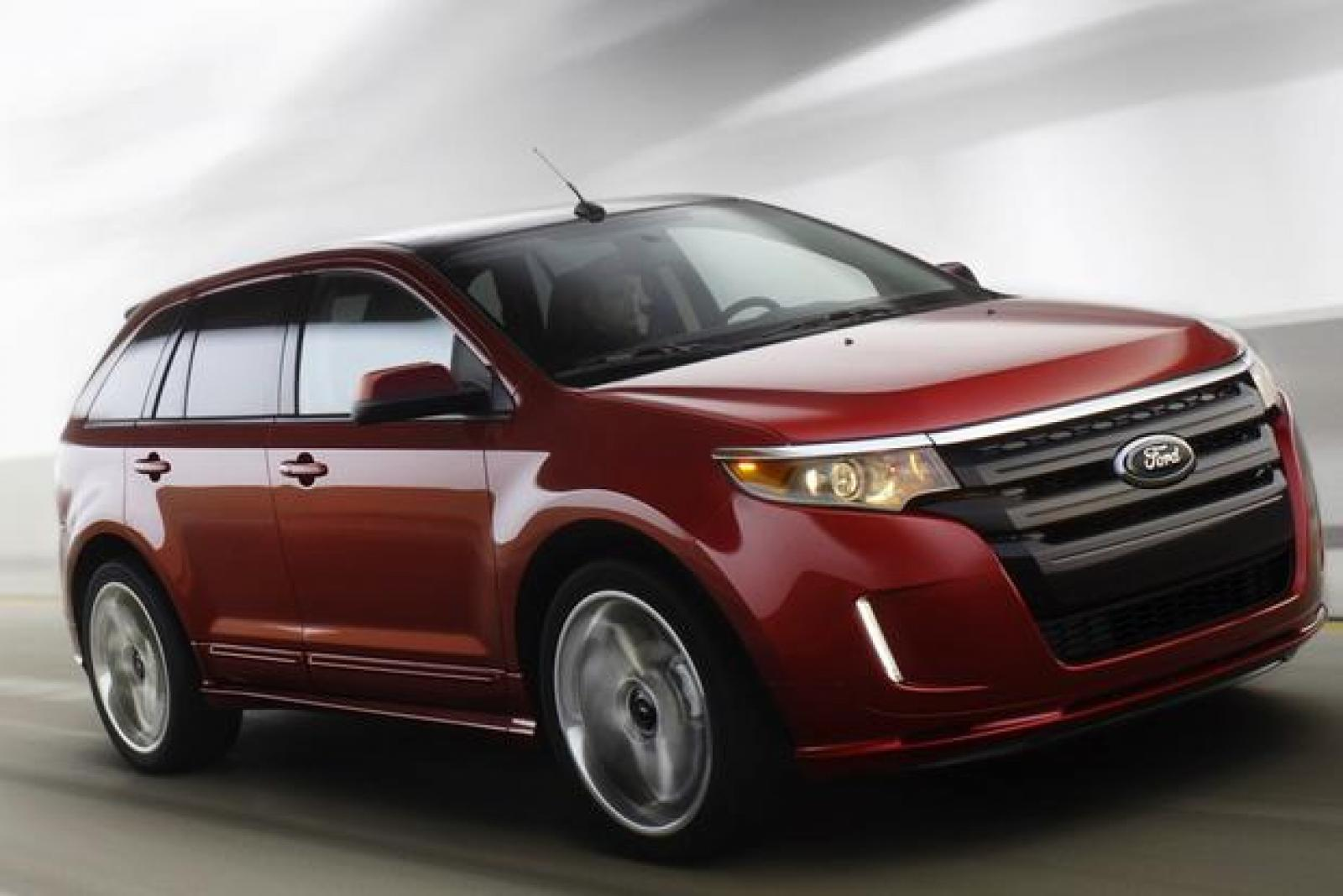 2014 ford edge information and photos zombiedrive. Black Bedroom Furniture Sets. Home Design Ideas