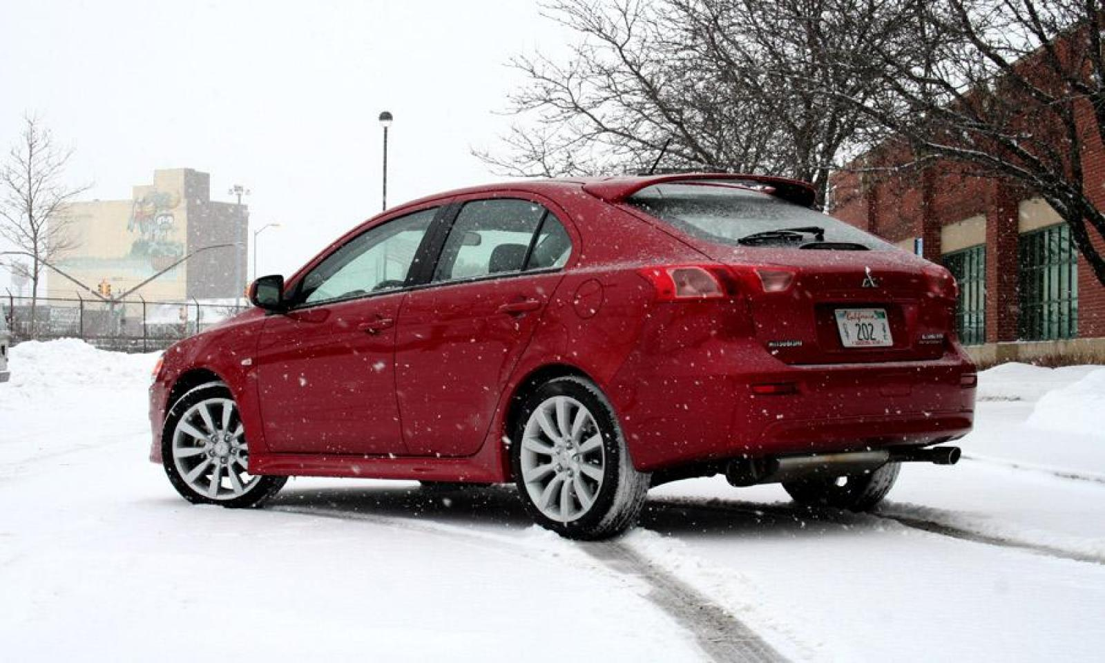 2014 mitsubishi lancer sportback information and photos. Black Bedroom Furniture Sets. Home Design Ideas