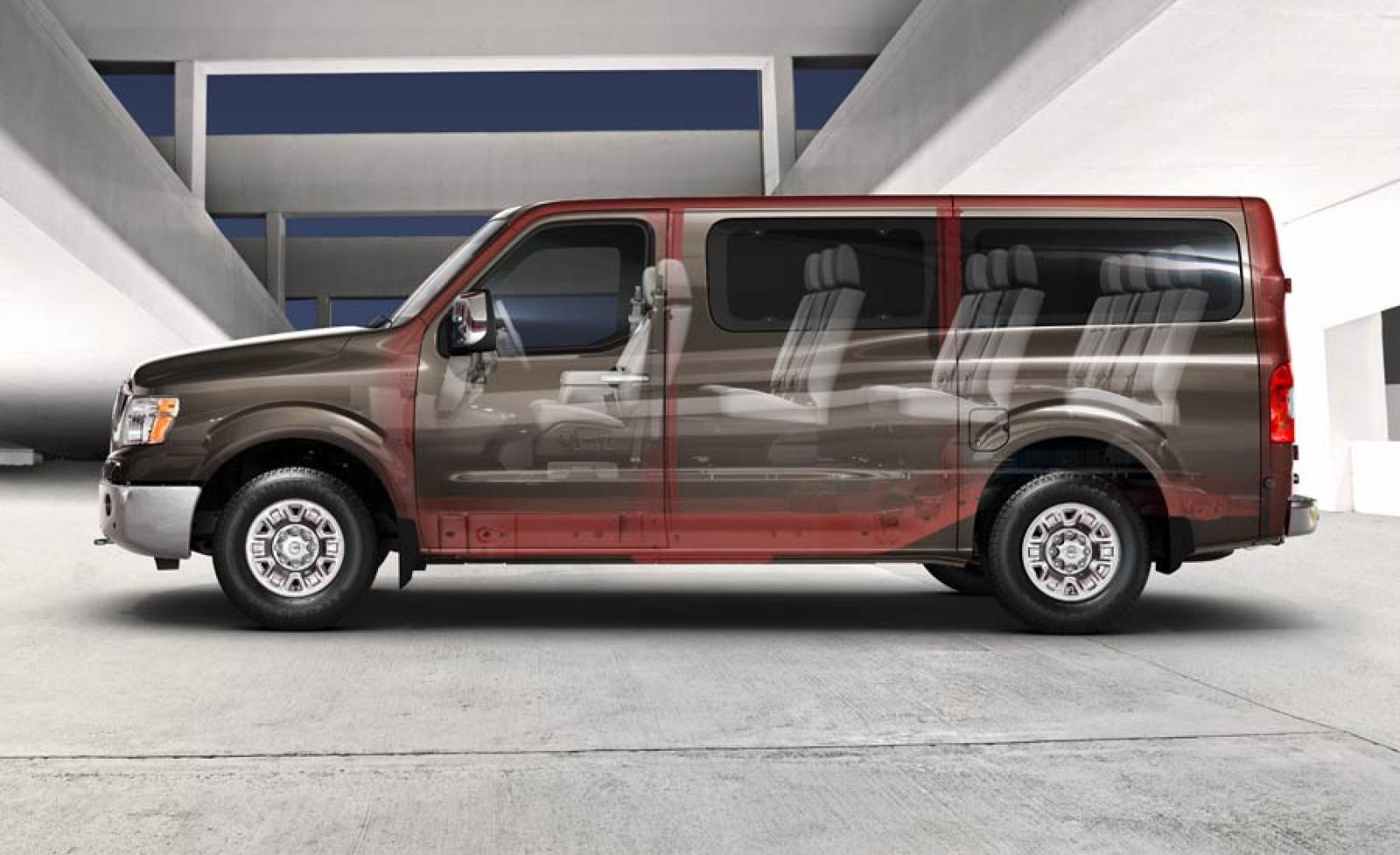 2014 Nissan NV Passenger - Information and photos ...