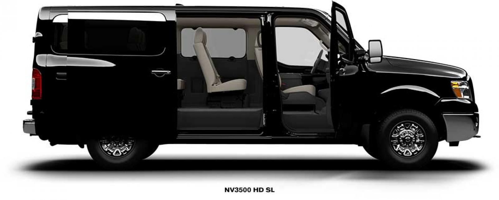 2014 nissan nv passenger information and photos zombiedrive. Black Bedroom Furniture Sets. Home Design Ideas