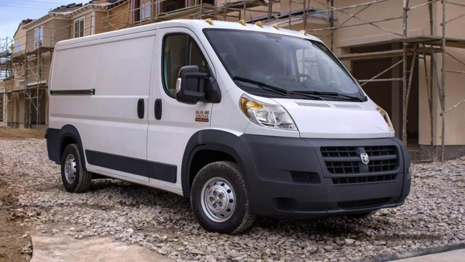 2014 ram promaster window van information and photos zombiedrive. Black Bedroom Furniture Sets. Home Design Ideas