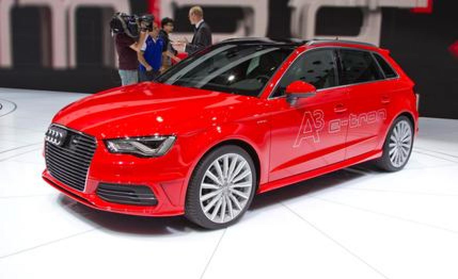 2015 audi a3 e tron information and photos zombiedrive. Black Bedroom Furniture Sets. Home Design Ideas