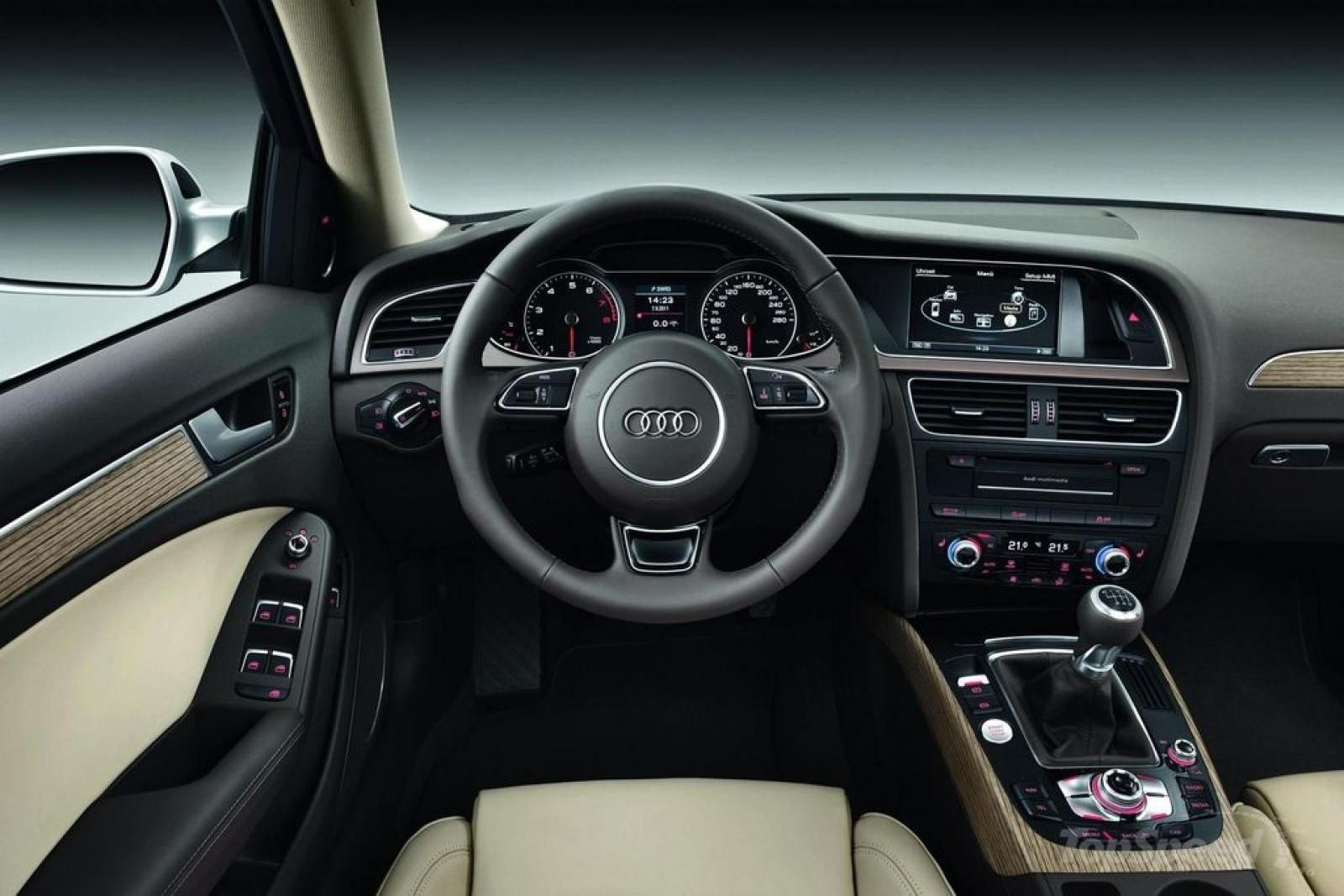 2015 audi a4 - information and photos - zombiedrive
