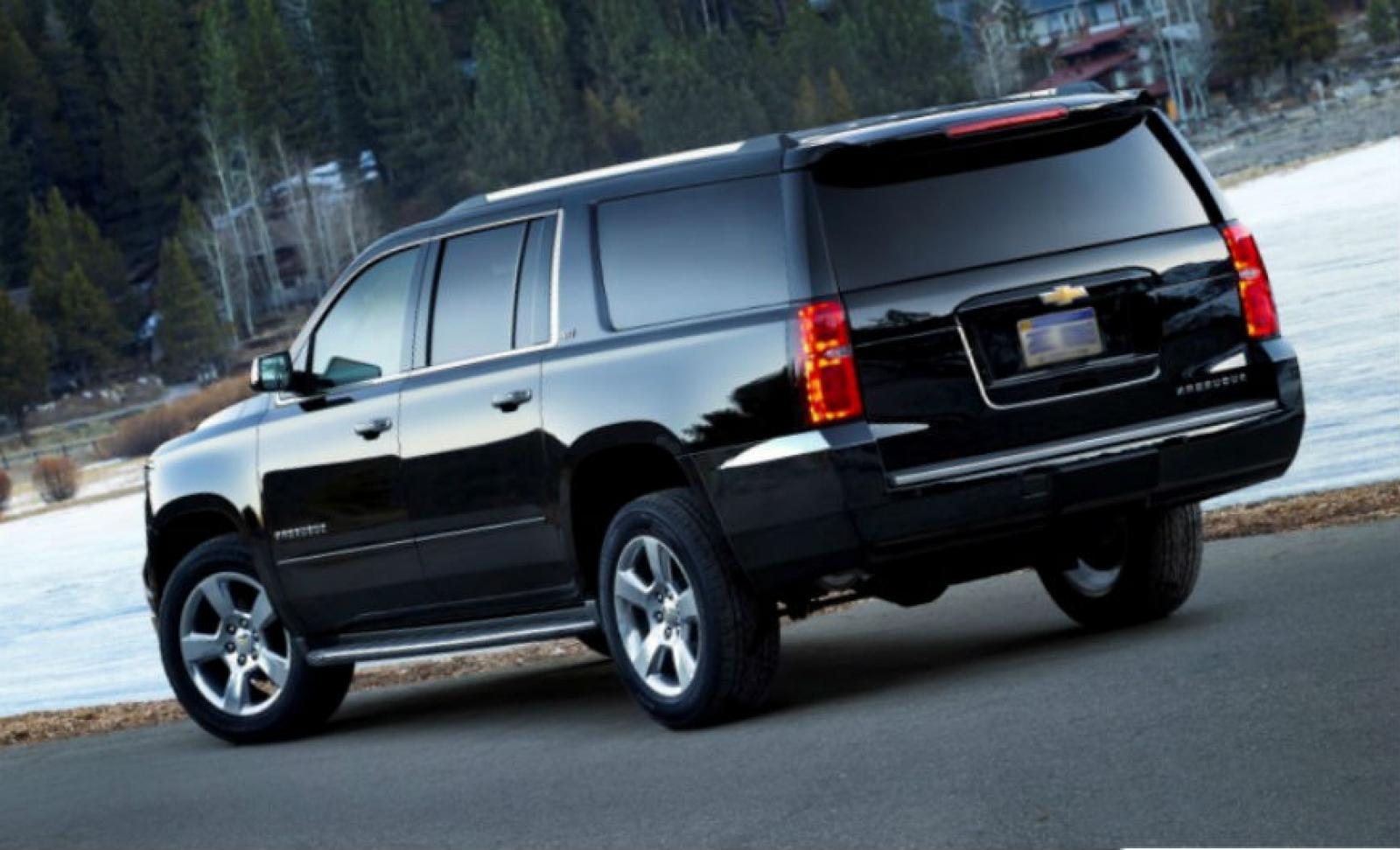 2015 chevrolet suburban information and photos zombiedrive. Black Bedroom Furniture Sets. Home Design Ideas