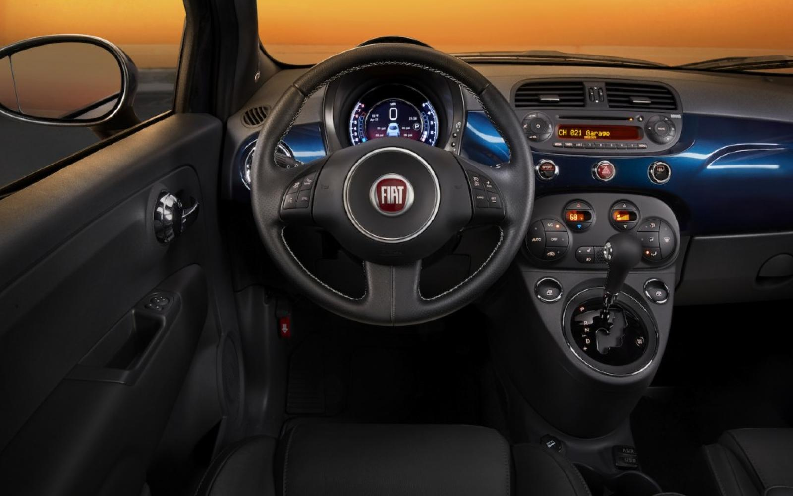 2015 fiat 500e information and photos zombiedrive. Black Bedroom Furniture Sets. Home Design Ideas