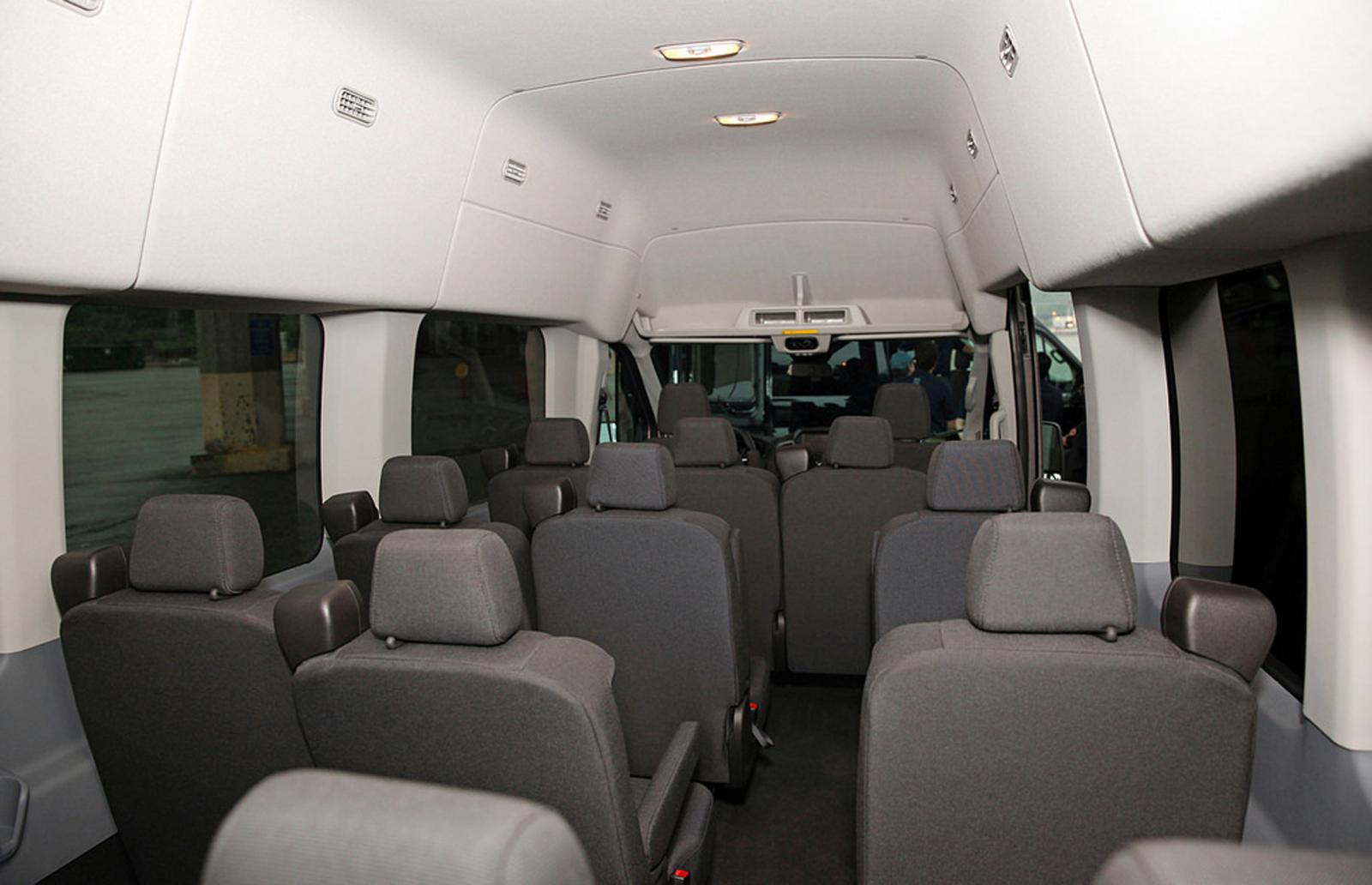 2015 Ford Transit Wagon Information And Photos Zombiedrive