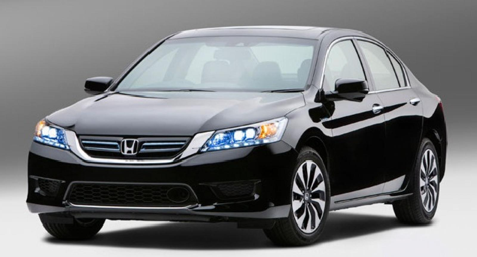 2015 honda accord hybrid information and photos zombiedrive. Black Bedroom Furniture Sets. Home Design Ideas