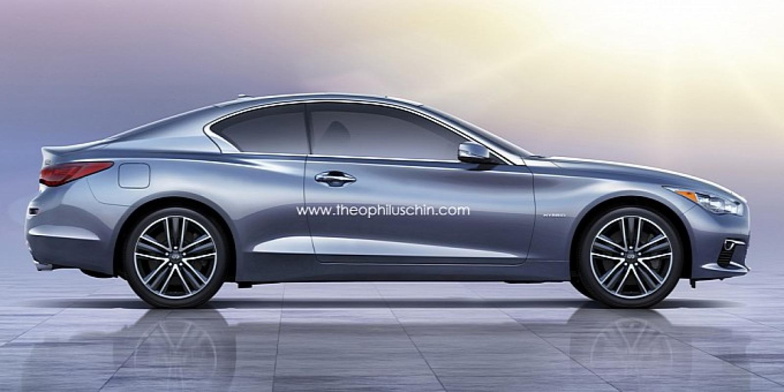 Q50 クーペ >> 2015 Infiniti Q60 Coupe Information And Photos Zombiedrive