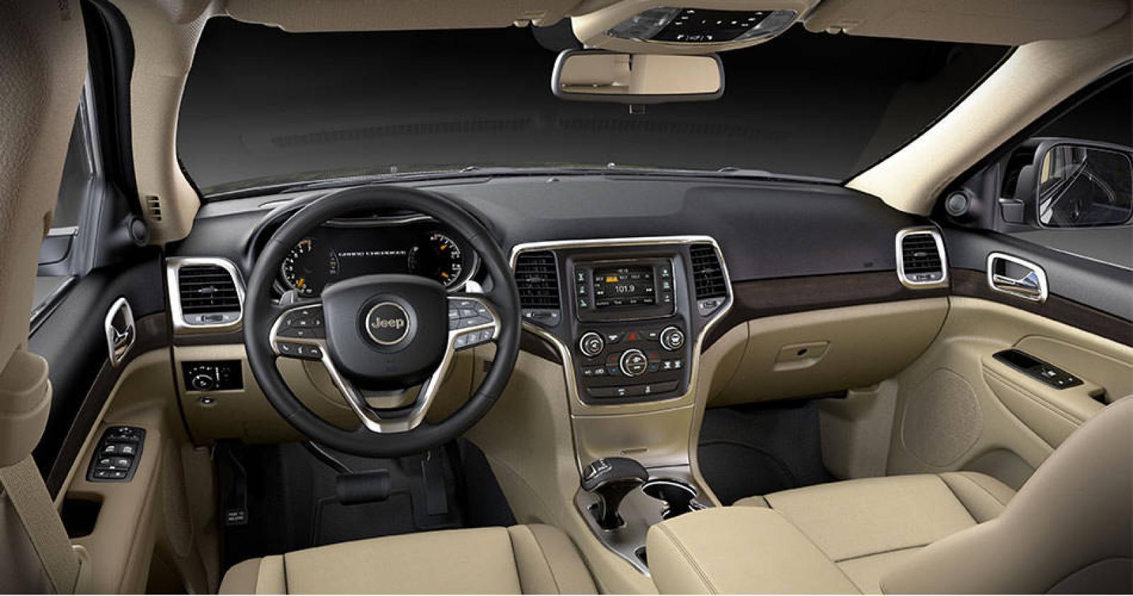 Jeep 2008 jeep grand cherokee interior : 2015 Jeep Grand Cherokee - Information and photos - ZombieDrive