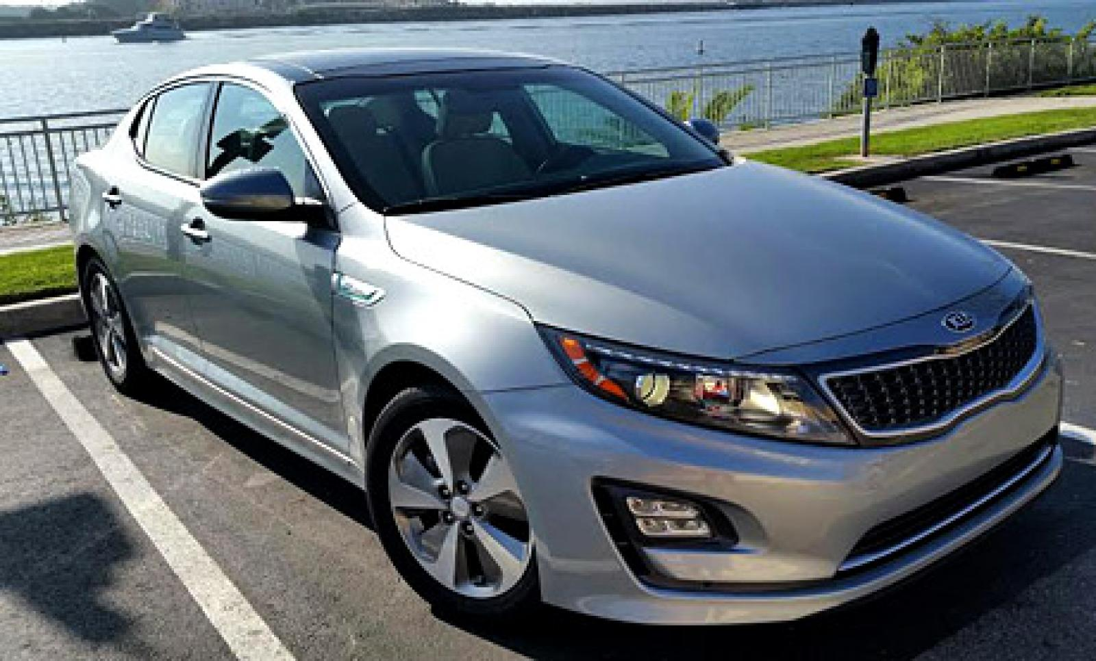 2015 kia optima hybrid information and photos zombiedrive. Black Bedroom Furniture Sets. Home Design Ideas