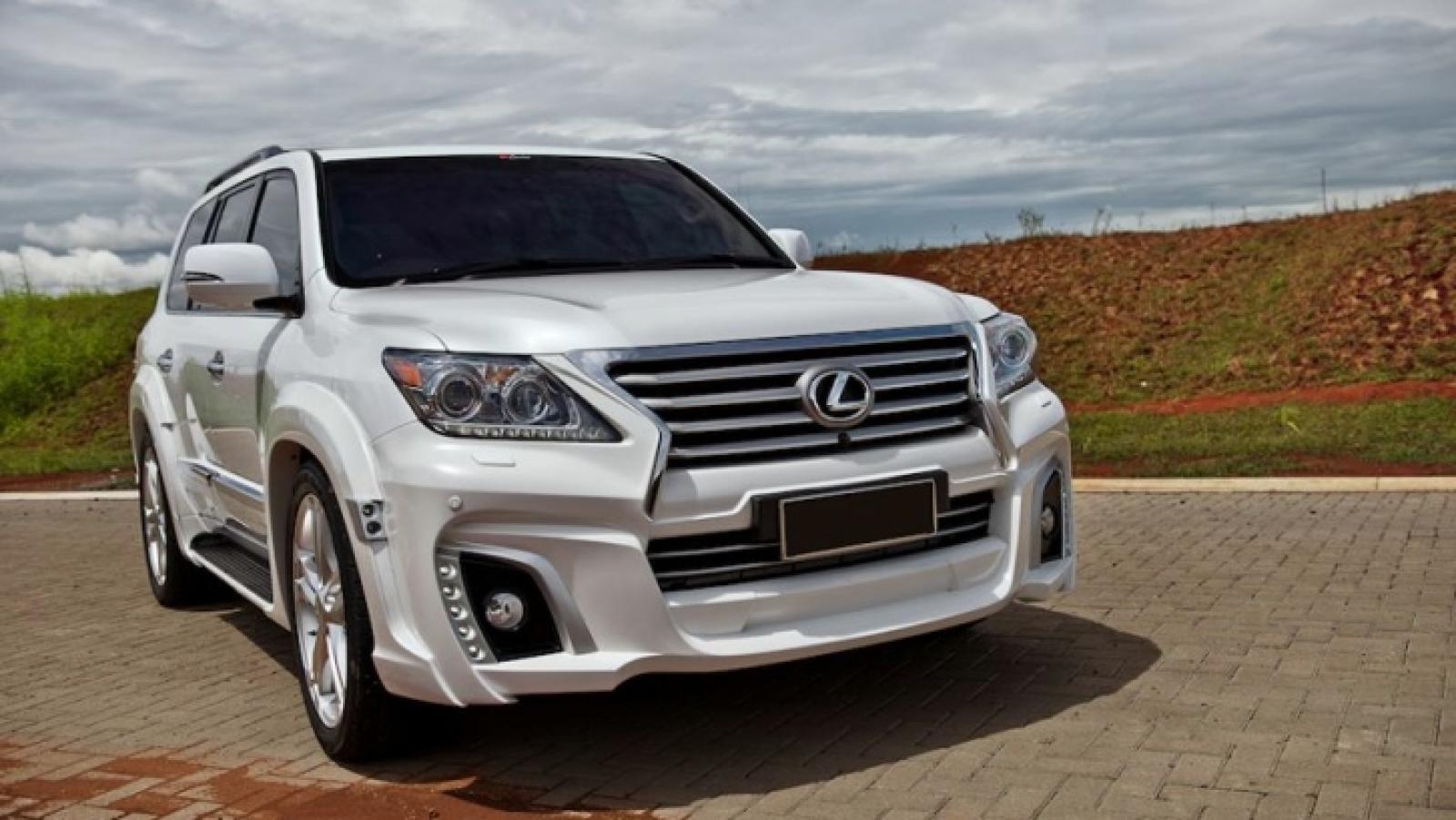 2015 lexus lx 570 - information and photos - zombiedrive